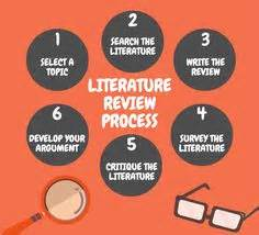How literature review is written