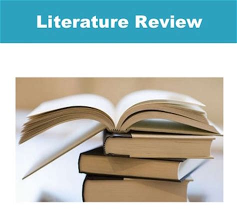 The Literature Review: A Few Tips On - Writing Advice